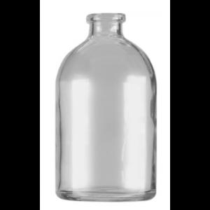 RLS 100ml Molded Clear Glass Serum Vials