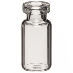 RLS 2 mL Tubular Clear Glass Serum Vials by Med Lab Supply