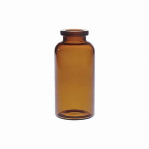 RLS 30ml Tubular Amber Glass Serum Vials by Med Lab Supply