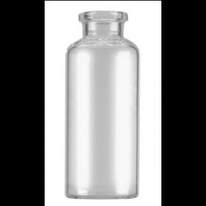 RLS 50mL Tubular Clear Glass Serum Vials by Med Lab Supply