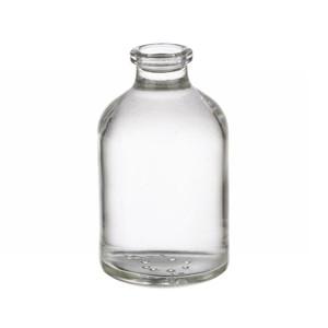 RLS 50ml Molded Clear Glass Serum Vials