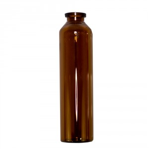 RLS 60mL Tubular Amber Glass Serum Vials by Med Lab Supply