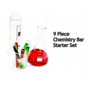 9-piece Chemistry Bar Starter Set by Med Lab Supply