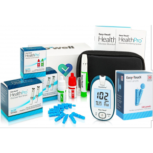 EasyTouch HealthPro Glucose Monitoring System-Starter Kit