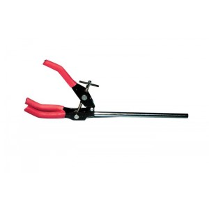 """Lab Support Stand Clamp, 3-Prong, 10"""" Length"""