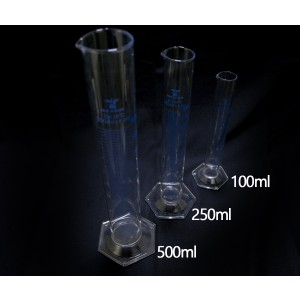 Med Lab Supply Graduated Cylinders Hex Base 100ml (Qty. 1)