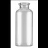 RLS 30ml Tubular Clear Glass Serum Vials by Med Lab Supply