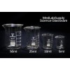 25ml Low Form Graduated Glass Beakers by Med Lab Supply