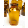 RLS 30ml Amber Serum Vial by Med Lab Supply