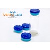 TWO TONE FLIP TOP by MED LAB SUPPLY