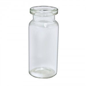 RLS 10ml Tubular Clear Glass Serum Vials by Med Lab Supply