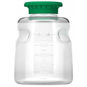 500ml Autofil PETG Media Bottle Sterile, 2 Units