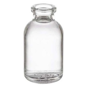 RLS 20ml Molded Clear Glass Serum Vials by Med Lab Supply
