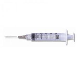 """Exel Luer Lock Syringe & Needle, 5cc x 22g x 1.5"""", 100/BX"""