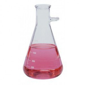 Med Lab Supply Side Arm Vacuum Filtering Flask 1000ml (Qty. 1)