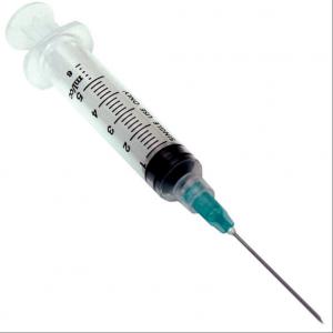 Hepro Single-Use Luer Lock Syringe, 5cc x 22g x 1, Bx of 100