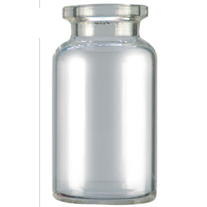 RLS 20ml Tubular Clear Glass Serum Vials by Med Lab Supply