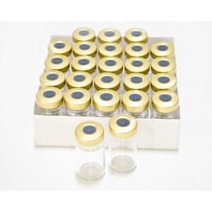 5ml Clear Sealed Sterile Depyrogenated Glass Vials (Gold)
