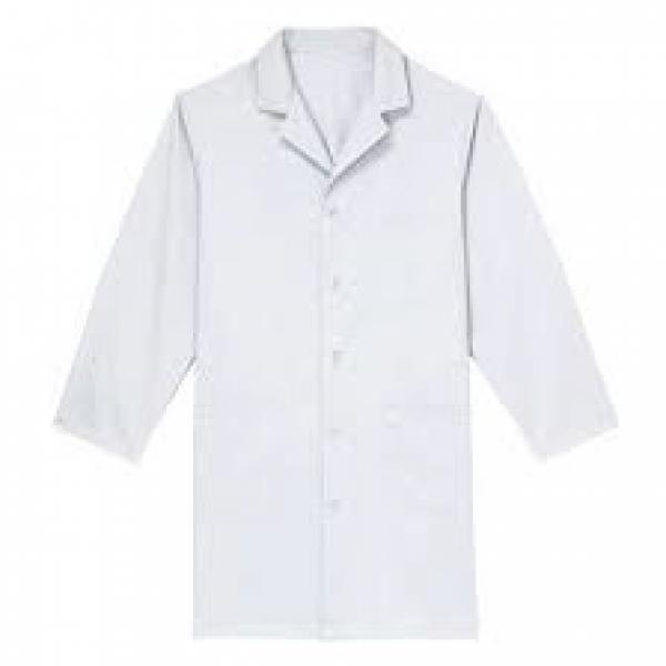 Uni-sex Basic White Lab Coat-Medium | Med Lab Supply
